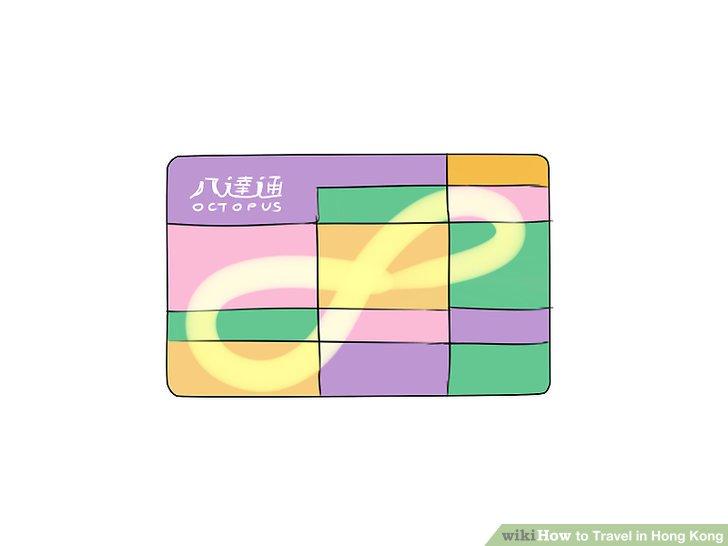 """Kaufen Sie eine """"Octopus Card"""" am Flughafen."""