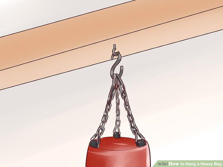 Hang the bag.