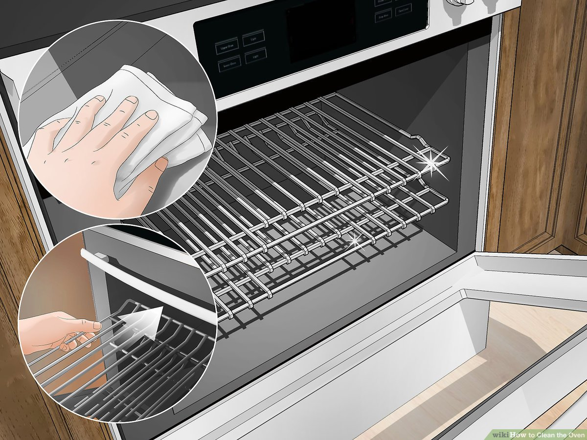 3 Ways To Clean The Oven Wikihow Life