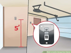 How to Install a Garage Door Opener (with Pictures)  wikiHow