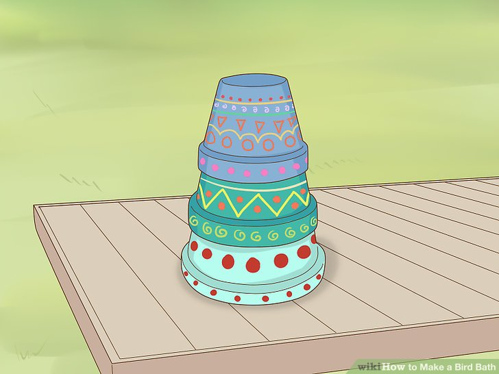 Stack the pots upside down.