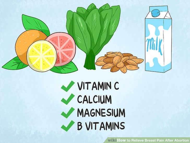Eat foods that are high in vitamin C, calcium, magnesium and B vitamins.