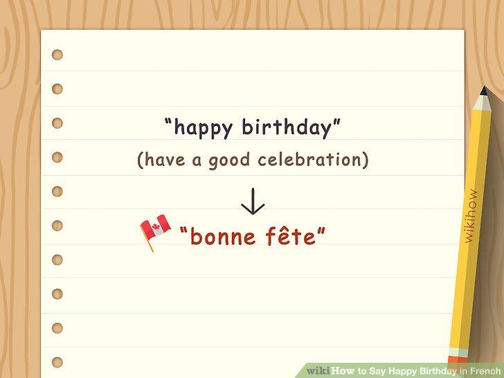 """Verwenden Sie """"bonne fête"""" im französischsprachigen Kanada."""