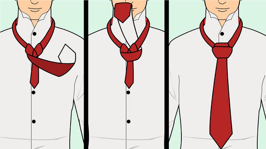 How to tie a windsor knot wikihow