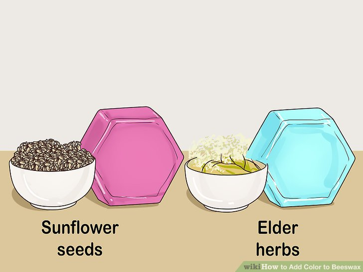 Select the right herbs to get your desired colors.