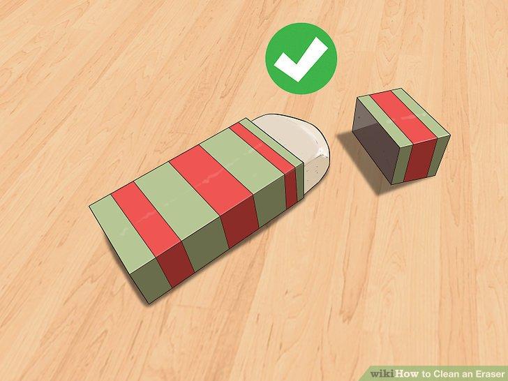 Verwenden Sie einen Radiergummi-Etui oder -deckel zur Aufbewahrung.