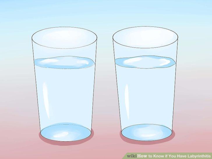 Trinke ausreichend Flüssigkeit.