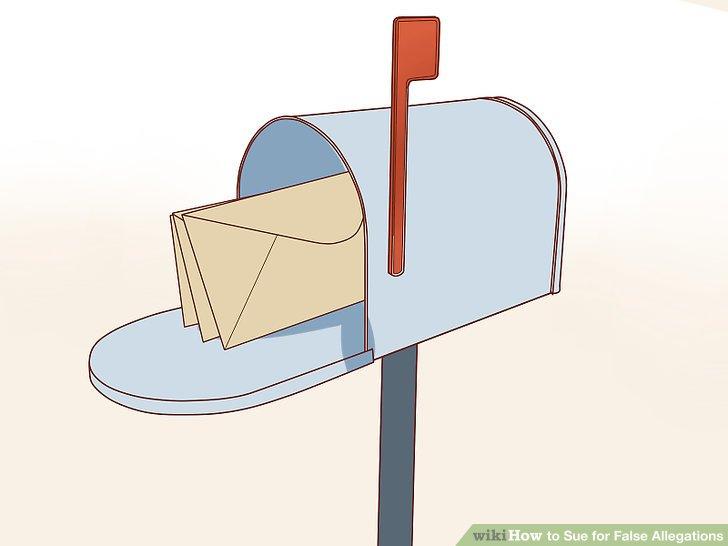 Senden Sie eine Aufforderungsschreiben.