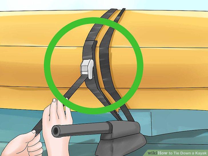 Führen Sie das nackte Ende des Riemens durch die Nockenschnalle.