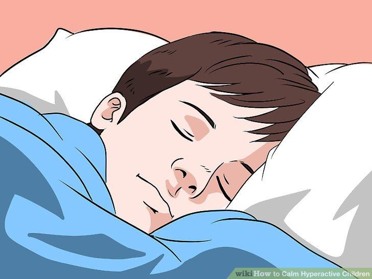 Ermutigen Sie zu gesunden Schlafgewohnheiten.