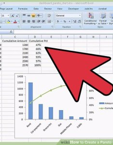 Image titled create  pareto chart in ms excel step also how to steps rh wikihow