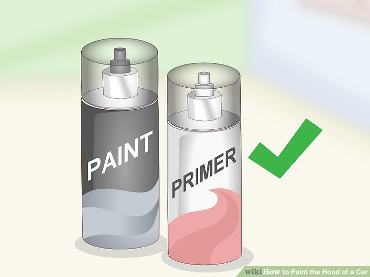 Verwenden Sie Sprühfarbe für einen schnelleren und kostengünstigeren Lackiervorgang.