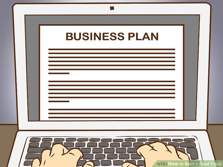 Schreiben Sie Geschäftspläne.