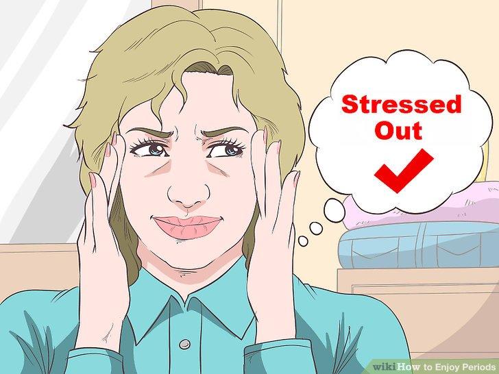 Stress adressieren.