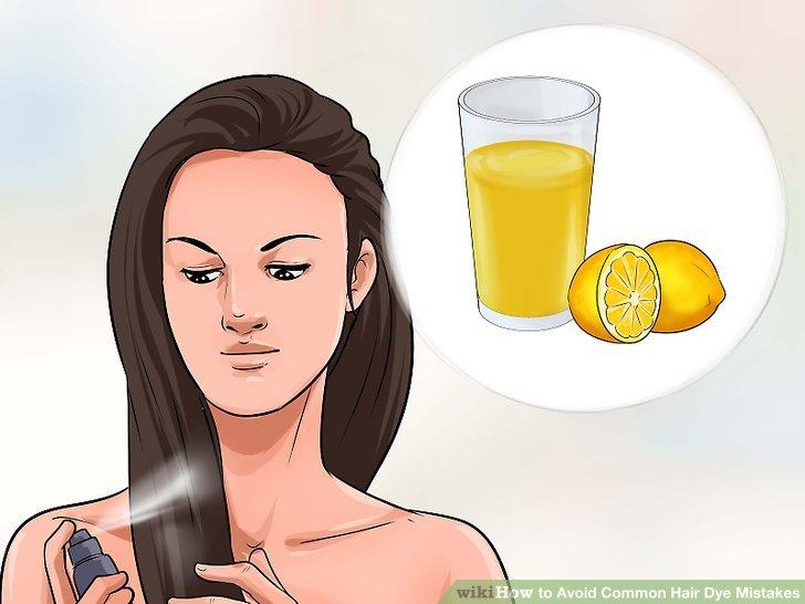 Backpulver und Zitronensaft mischen.