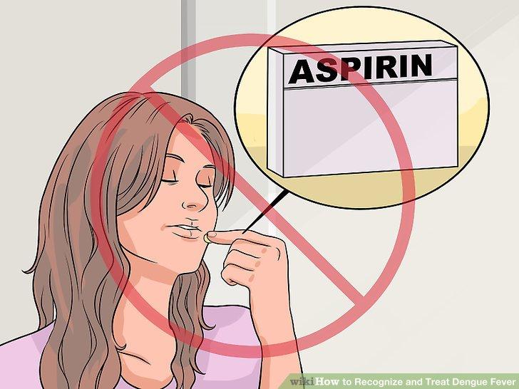 Vermeiden Sie Aspirinprodukte.