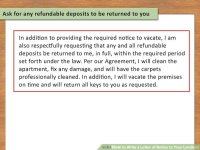How to Write a Letter of Notice to Your Landlord: 14 Steps