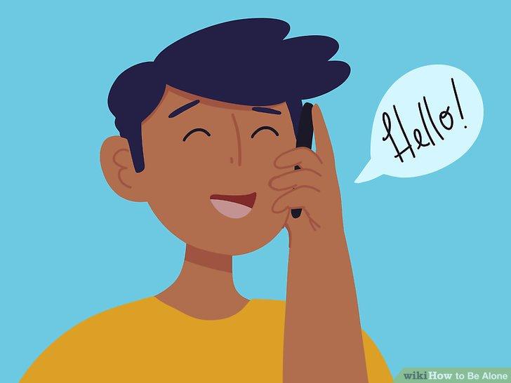 Sprechen Sie mit einem Berater oder Mentor, wenn Sie Schwierigkeiten haben, allein zu sein.