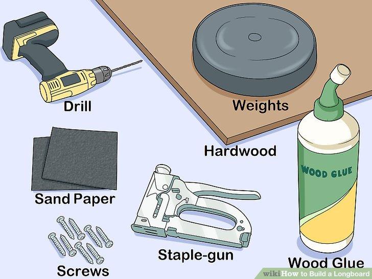 Sammeln Sie Ihre Materialien für das Deck.