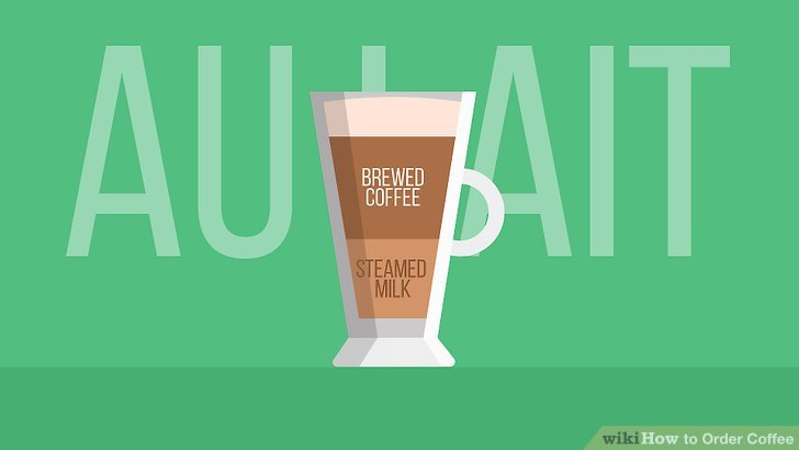 Try an au lait for a classic treat.