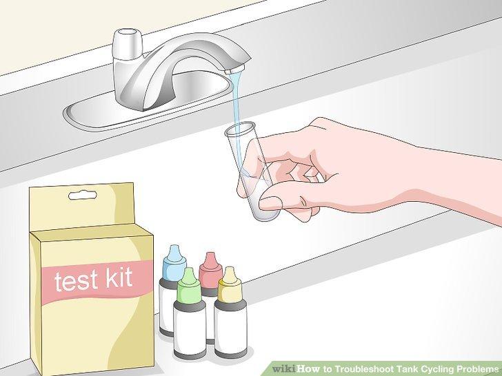 Testen Sie Ihr Quellwasser, wenn sich die Werte nicht verbessern.