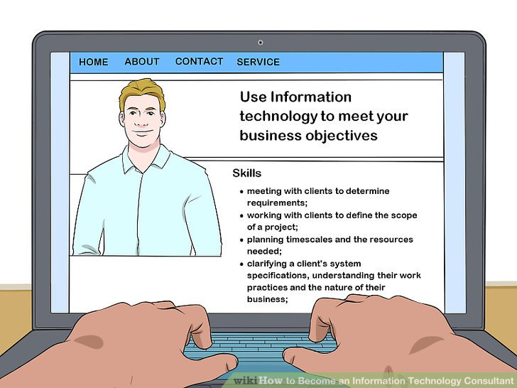How to Become an Information Technology Consultant with Pictures