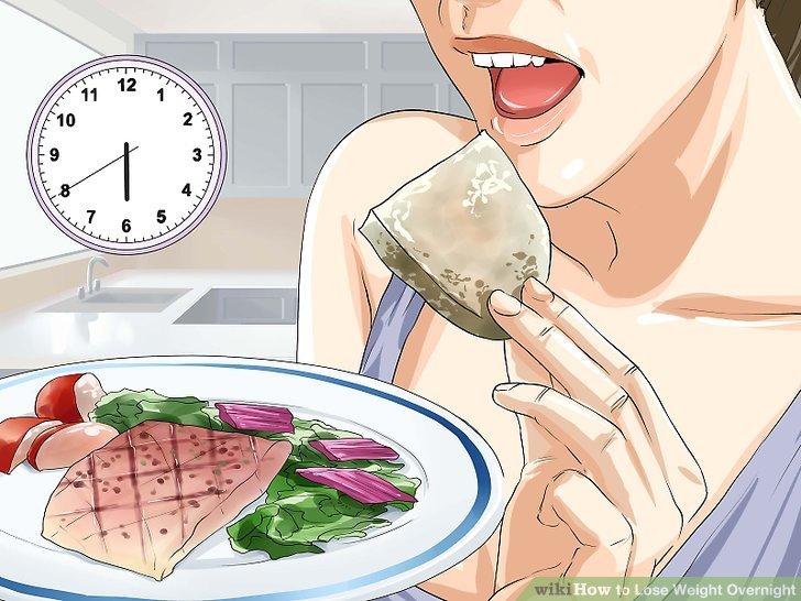 Essen Sie früh zu Abend.