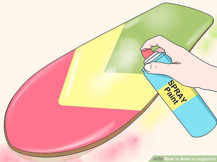 Betrachten Sie Ihr Board zu streichen.