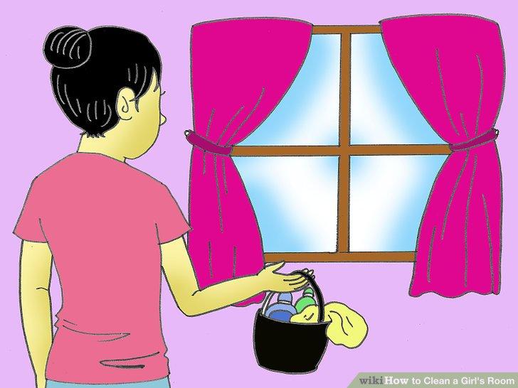 Entfernen Sie alles von der Fensterbank und wischen Sie es mit geeigneten Reinigungsmitteln ab.
