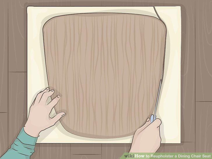 reupholster dining chair how to build a sex seat with pictures wikihow image titled step 7