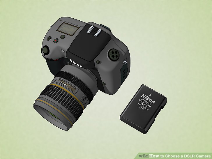 How to Choose a DSLR Camera - Practical Information