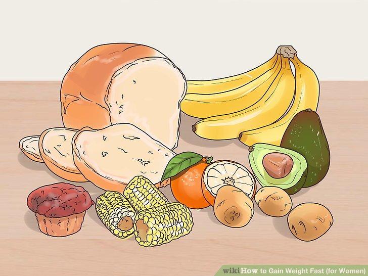 Konsumieren Sie kalorienreiche und nährstoffreiche Lebensmittel.