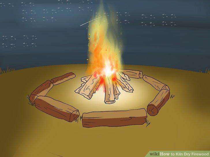 Verwenden Sie das ofengetrocknete Holz für Ihre eigenen Aktivitäten.