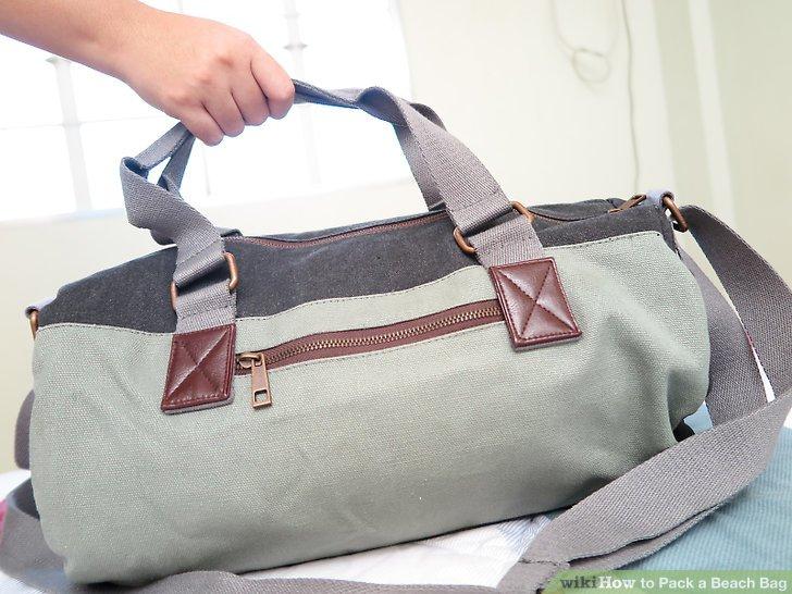 Wählen Sie die richtige Art von Tasche.