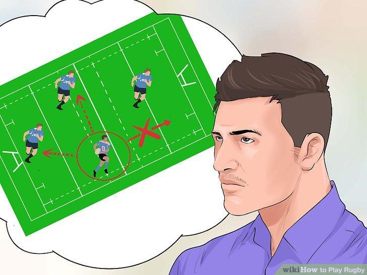 Der Ball kann nur nach hinten oder zur Seite geworfen werden.