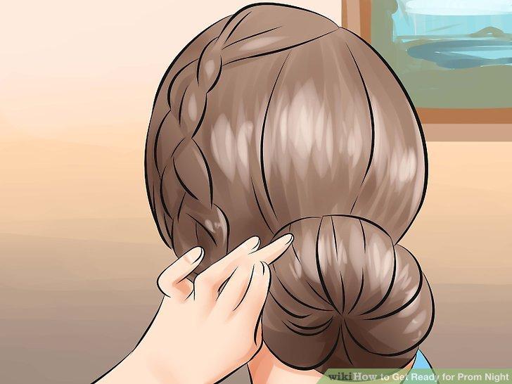 Betrachten Sie Ihre Haare.