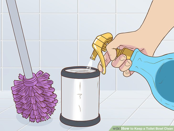 Disinfect your toilet brush