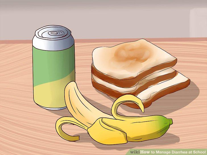 Essen Sie einfache Lebensmittel.