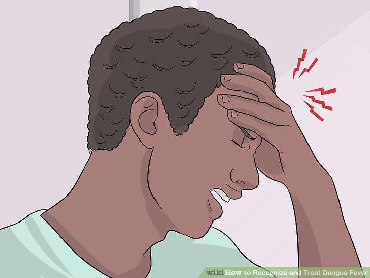 Achten Sie auf grippeähnliche Symptome.