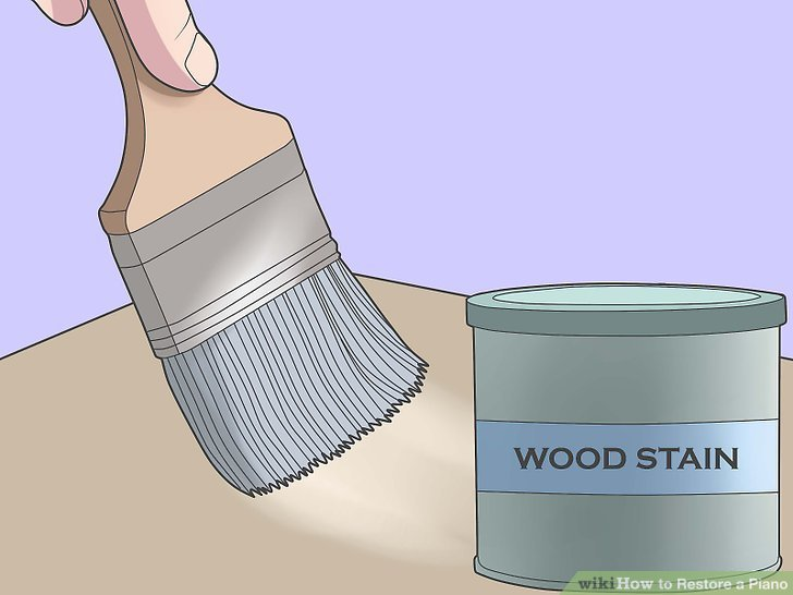 Choose the wood stain.