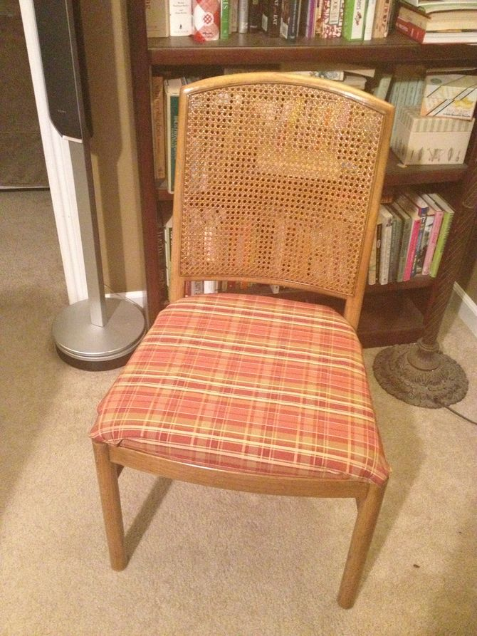 reupholster dining chair slipcovers for upholstered chairs how to a seat with pictures wikihow uploaded 5 years ago