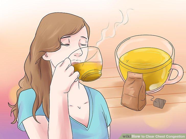Tee trinken.