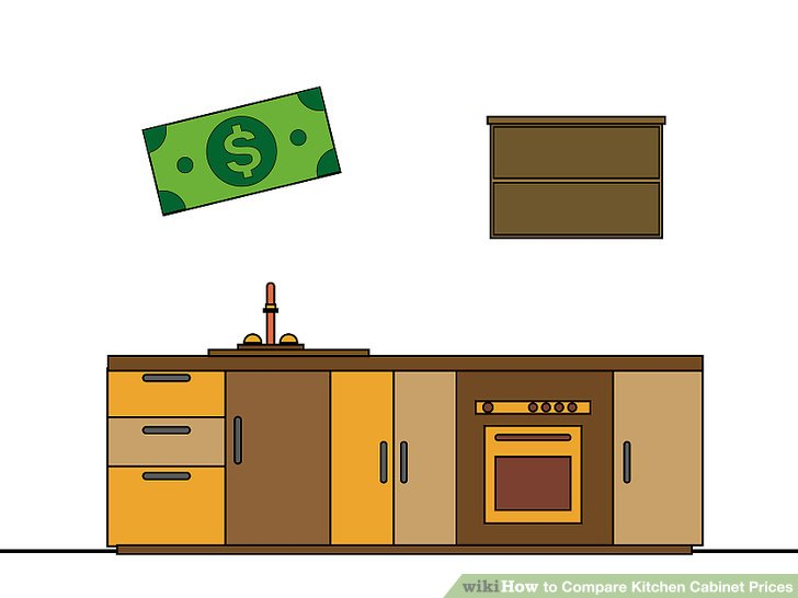 How to Compare Kitchen Cabinet Prices 13 Steps with