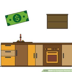 Kitchen Cabinet Price Bottom Cabinets How To Compare Prices 13 Steps With Pictures Image Titled Step 1