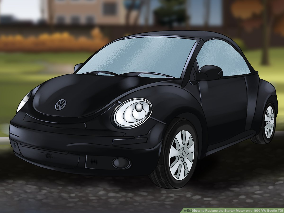 hight resolution of how to replace the starter motor on a 1999 vw beetle tdi 2001 vw beetle tdi engine 2004 vw beetle 1 9 engine diagram bew vw