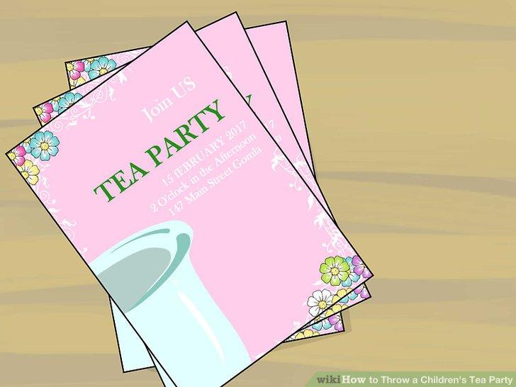 Make the invitations.
