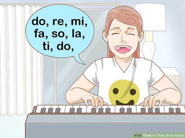 Do solfege scale exercises to improve your pitch.