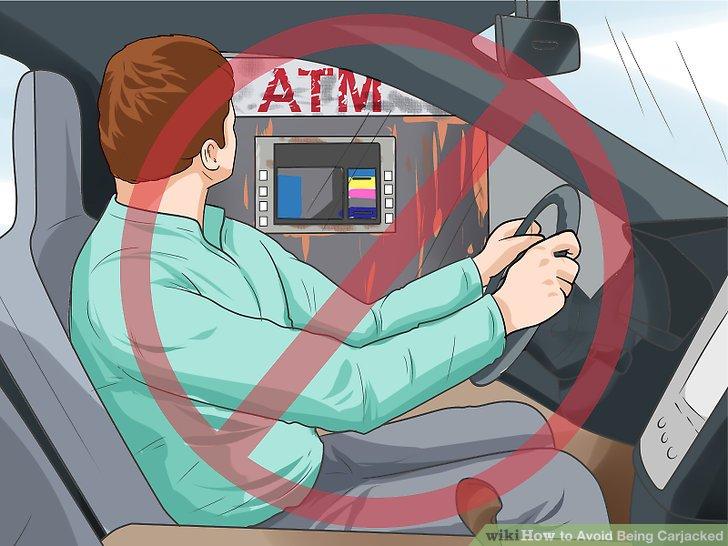Halten Sie nicht an isolierten Telefonen oder Geldautomaten an.