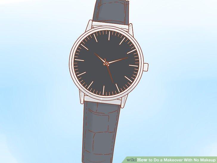 Tragen Sie eine stilvolle Uhr, um jedes Outfit zusammenzufügen.