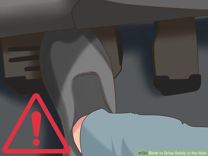 Schlagen Sie nicht auf die Bremse.